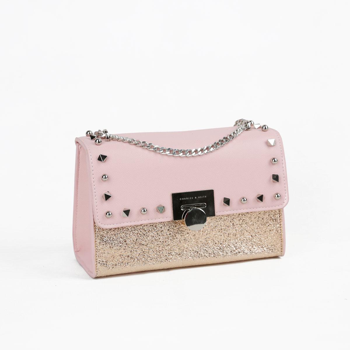 Jual Tas Branded Ck studd glitter semor 22 cm pink Murah Kwalitas Tas  Import  7314d0d8c2